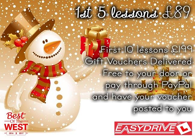 EasyDriveNI Christmas 2019 Offer